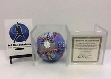 COORS FIELD COLORADO ROCKIES BALL UNFORGETTABALL LIMITED EDITION W/ COA