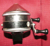 Zebco Model 33 Spincaster Fishing Reel Vintage Needs Cleaned & Oiled > USA Made