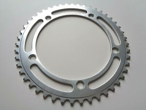 """*NOS Vintage 1970s Campagnolo Record Pista 1/8"""" 47t chainring - 144BCD (#760)*"""