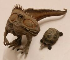 Schleich Giganotosaurus Dinosaur and Tortoise lot of 2 FREE SHIPPING