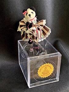 """1995 """"PANDORA PANDA"""" miniature bear By LITTLE GEMS"""