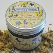 """Lavender (organic) & Chamomile"" Essential Oil Face Cream + Evening Primrose oil"