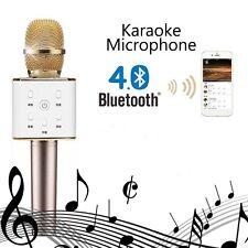 MICROFONO INALAMBRICO BLUETOOTH KARAOKE DJ CON ALTAVOZ USB IPHONE ANDROID KTV