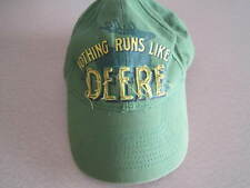 John Deere, Nothing Runs Like A Deere Hat L/XL adjustable.