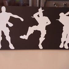 Fortnite Emote Wooden Sign, Boys Room, Hanger , Floss, Take A L, Dab