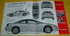 1998 1999 Pontiac Grand Prix GTP 231 V6 240 hp MFI IMP Info/Specs/photo 15x9