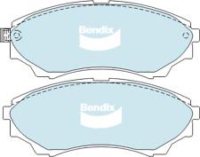 Brake Disc Pad Set Front Bendix DB1681 4WD For FORD COURIER RANGER MAZDA B-SERIE