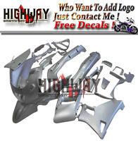 Injection Fairings For Kawasaki ZZR400 ZZR600 93-07 95 Fairing Bodywork Kit Grey
