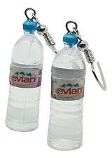 Spring Water Bottle Earrings Vol Evi Style Dangle Drop Unique Kitsch UK SELLER