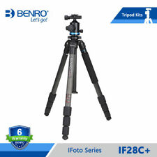 Benro iF28C+ Carbon Fiber Portable Reflexed Tripods Monopod For Camera