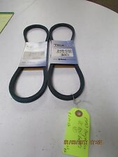 MMD COMPACTOR V BELTS FITS PC800 BELTS # 248-032 (2 PC LOT NEW NEVER USED)