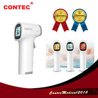 CONTEC medical Infrared Thermometer Forehead Non Contact Body Temperature