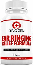 RingZen - Tinnitus Relief to Stop Ringing Ears. 60 Caps