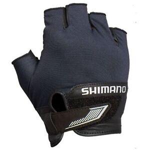 Shimano GL-022S Gloves 3D Casting High Grip 5 Fingerless Bk Size L 634108