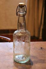 Botella en Cristal Limonada Map Tapón Porcelana