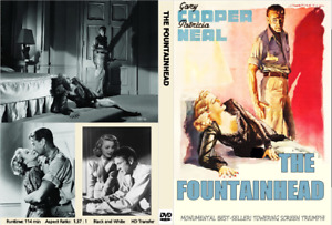 THE FOUNTAINHEAD (1941) Gary Cooper Patricia Neal