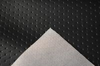 "Embossed Black Diamond Marine Vinyl Upholstery Fabric 30 Feet Boat Car 54"" Wide"