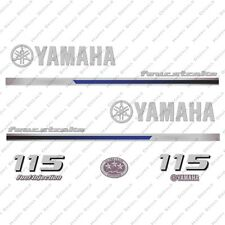 Yamaha 115HP Four Stroke Outboard Engine Decals Sticker Set reproduction 2013