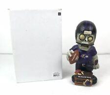 "Baltimore Ravens Team 9"" Tall Zombie Figurine NFL Resin Figure Decor Gnome NOTB"