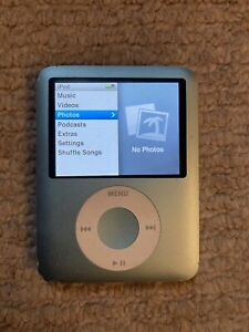 Apple iPod Nano - 3rd Generation - Blue (8GB) - A1236 - Good Condition