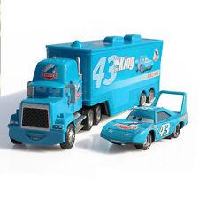 Disney King Pixar Cars Hauler DINOCO MACK SUPER LINER TRUCK DIECAST lot jeu jouet