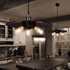 Industrial Retro Vintage Black Pendant Lamp Loft Kitchen Hanging Ceiling Light