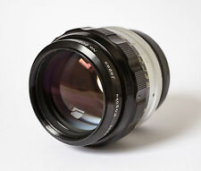 Nikon 85mm Nikkor H f1.8 Lens MINT Condition
