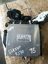Mercedes SLK230 R170  C230 W202 ECU CONTROL UNIT SET A0235458332