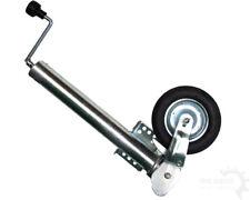 Automatik-Stützrad 60mm 400kg Stützlast Flansch am Rohr Anhänger Trailer