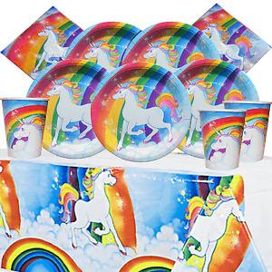 Unicorn Party Kit 1 for 8 to 16 Children   Party Tableware   Unicorn Birthday