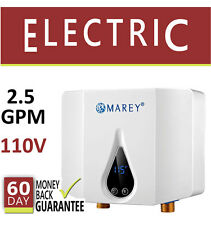 ECO35 Electric Tankless Hot Water Heater 2.5 GPM On Demand Point of Use 110V