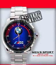 New Limited Edition Bmw Car M Power Z4 Emblem Sport Men's Wristwatch
