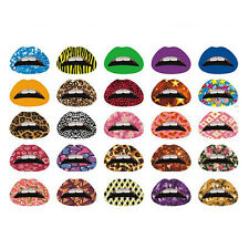 Sexy Lip Sticker Temporary Tattoo Transfer Lipstick Art Party Charm Random Color