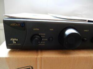 Arcam Alpha 7R Amplifier With remote control