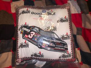 Vintage NASCAR Dale Earnhardt #3 RCR Goodwrench Pillow