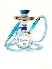 Don Julio® Hookah Shisha Chicha Narghile 750ml Blanco Custom Glass Bottle Blue