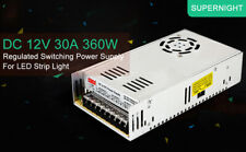 5x AC to DC 12V 30A 360W Transformer Switching Power Supply for LED Strip Light