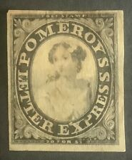 US. 1844. Local Express. Pomeroy. Very thin paper.