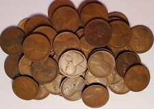 #1 full roll (50) 1911 P Lincoln Wheat Cents