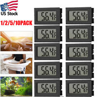 2/5/10x Mini Digital LCD Indoor Temperature Meter Indoor Home Tester Monitor (℉)