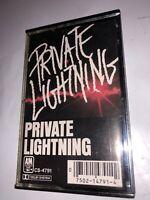 Private Lightning Cassette Tape OOP 80s