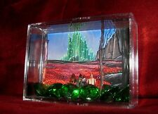 """L@@k~Wizard Of Oz """"EMERALD CITY CURRENCY"""" Miniature Display Ready 4 the Taking!"""
