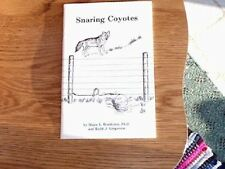 Book: Boddicker, Snaring Coyotes, traps, trapping
