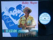 """12"""" Italo Disco Record Robby Magno - Vocalizado The Loca Samba (Discomagic 1989)"""