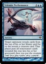 TELEMIN PERFORMANCE Conflux MTG Blue Sorcery RARE