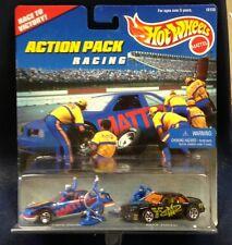 VINTAGE 1996 HOTWHEELS ACTION PACK RACING T-BIRD STOCKER BUICK STOCKER 3 FIGURES