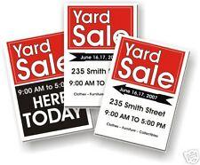 Custom Yard Sale 9 Poster Kit #1