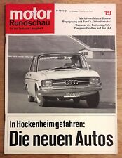 Motor Rundschau 19/65 Test Matra Bonnet Djet,Nutzfahrzeuge auf IAA,Opel Experime