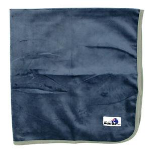 Minky Grey Change Mat - Soft Reusable Cloth Waterproof Multi-Function
