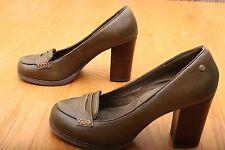 Bass Green Heels Women's Size 8 M